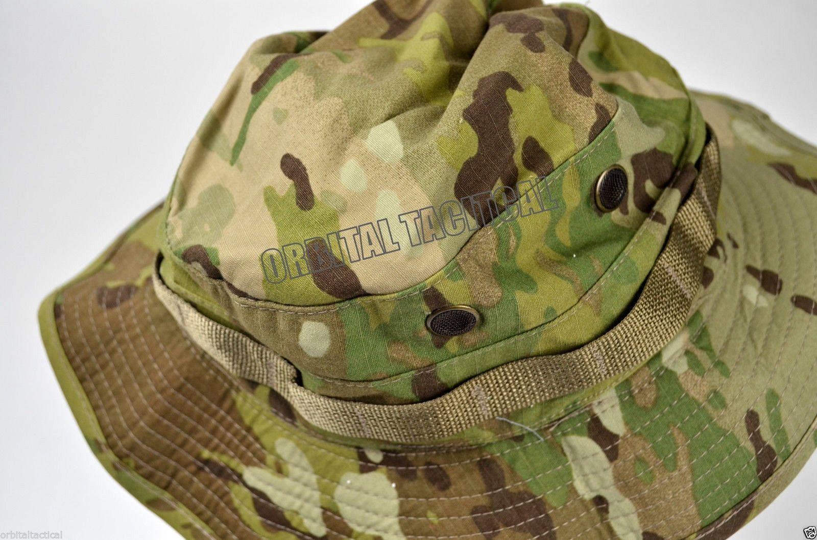 NEW USGI MILITARY ARMY MULTICAM OCP BOONIE HAT CAP - Orbital Tactical 0bfb5003ae7